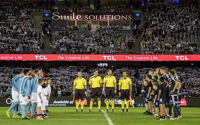 Melbourne Victory partners with TCL