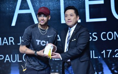 Neymar Officially Kicks Off as the TCL Brand Ambassador